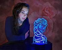 """Детский ночник - светильник """"Холодное Сердце 2"""" 3DTOYSLAMP, фото 1"""