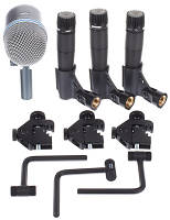 Набор микрофонов Shure DMK57-52 Drum Microphone Kit (DMK57-52)