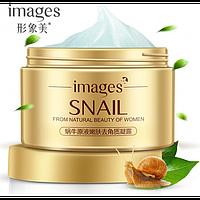 Крем для лица Images Snail с экстрактом слизи улитки и гиалуроновой кислотой50 ml, фото 1
