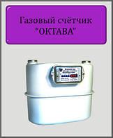 Газовый счётчик ОКТАВА 6 с мелкой резьбой Мембранный