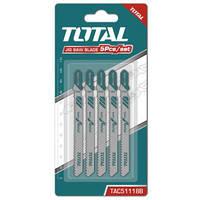 Набор лезвий для пилки по металлу Total TAC51118B 5шт