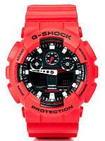 Наручные часы G-Shock- 1 синий красный черный оранжевый белый черный с красным черный с белым черный с синим