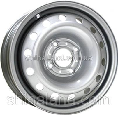 Стальные диски Trebl 6445T 6x15 4x100 ET39 dia56,6 (Silver)