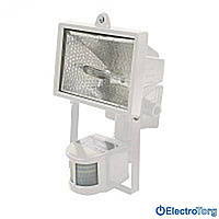 Прожектор FDL-118Р 500W белый с датчиком движения Delux