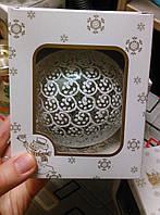 Елочные игрушки ручной работы (стекло, роспись)