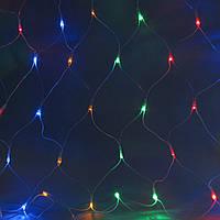 Светодиодная сеть 2 х 3 м, 384 LED, прозрачный ПВХ