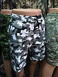 Мужские шорты камуфляжные с боковыми карманами, фото 3
