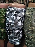 Мужские шорты камуфляжные с боковыми карманами, фото 4