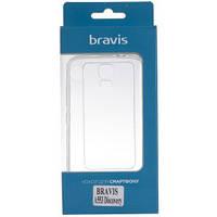 Чехол Bravis A553 Discovery - TPU Clean Transparent