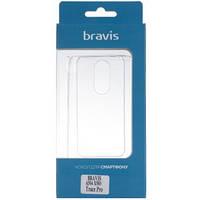 Чехол Bravis A504 X500 Trace Pro - TPU Clean Transparent