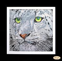 Набор для вышивки бисером Взгляд тигра НГ-017