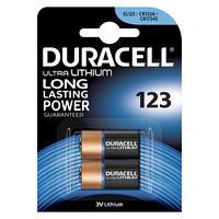 Батарейка Duracell DL 123 2 шт.
