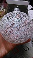 Новогодние сувениры (шары новогодние премиум класса: стекло, ручная роспись), фото 1