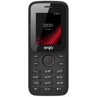 Мобильный телефон ERGO F182 Point Dual Sim Вlack