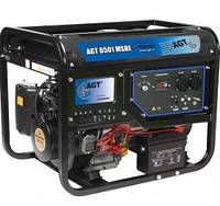 Генератор бензиновый AGT 6501 MSBE (5,7 кВа, двигатель Mitsubishi GM401PE 9,6 кВт/13 л.с., электростартер, бак