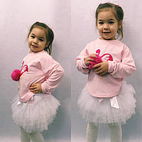 Свитшот «Фламинго» 104-122см, фото 1