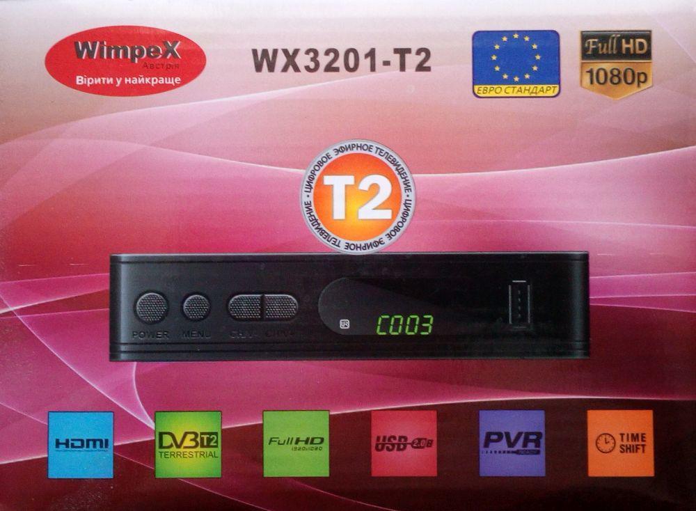 Цифровий тюнер ресивер Wimpex Wx3201-t2