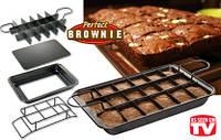 Форма для выпечки Брауни Perfect Brownie Pan Set, фото 1