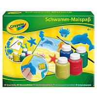 Набор для рисования гуашью со штампами и валиком, Crayola
