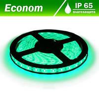 Светодиодная лента DX 5050-60 G IP65 зеленый, герметичная, 1м