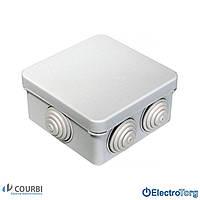 Распределительная коробка 80х80х40 IP55 COURBI(КОРБИ)80*80*40