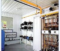 Крышные газовые котельные с модульными водонагревателями Колви ВПМ-192 квт