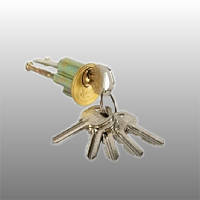 Цилиндр накладного замка Полар (Polar) английский ключ (стальной)
