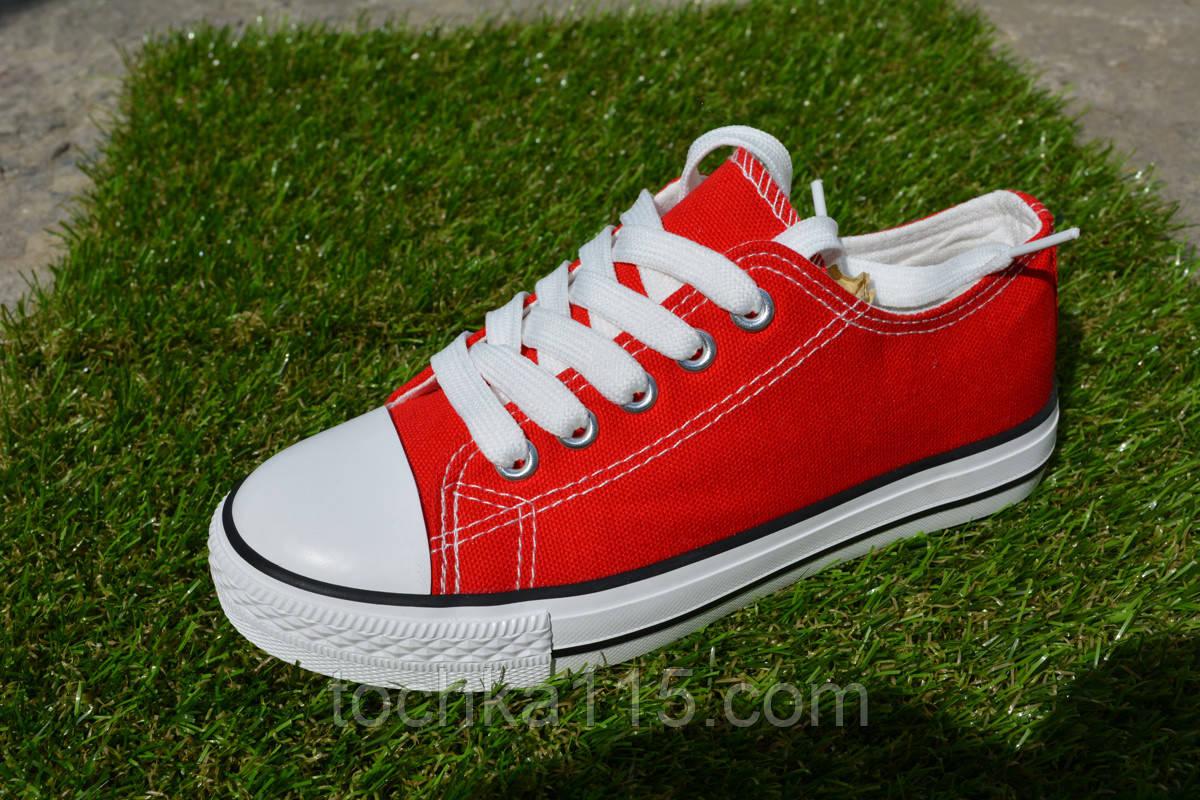 Детские кеды converse all star красные 30 - 36, копия от интернет ... 486880113ec
