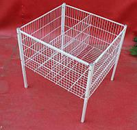 Стол для распродаж, промо стол, промо корзина 86х80х86 см. бу