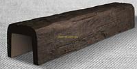 """Балки из полиуретана под дуб серия """"Рустикал"""" 190х170 мм цвет темный, светлый дуб Длина 4 м"""