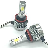 Светодиодные LED лампы головного света H11 Epistar C3 3200Lm 25Watt, фото 1