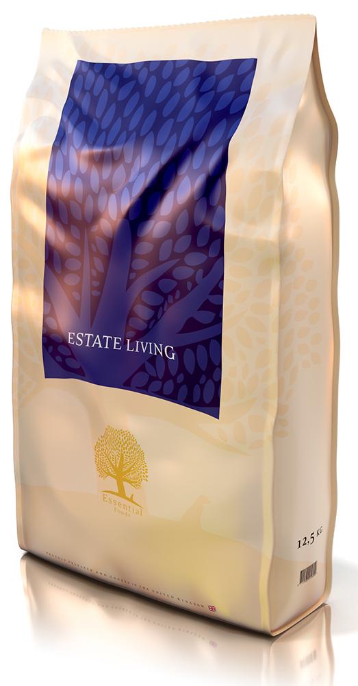 Essential Estate Living Adult беззерновой корм для взрослых собак всех пород с бараниной и олениной, 3 кг