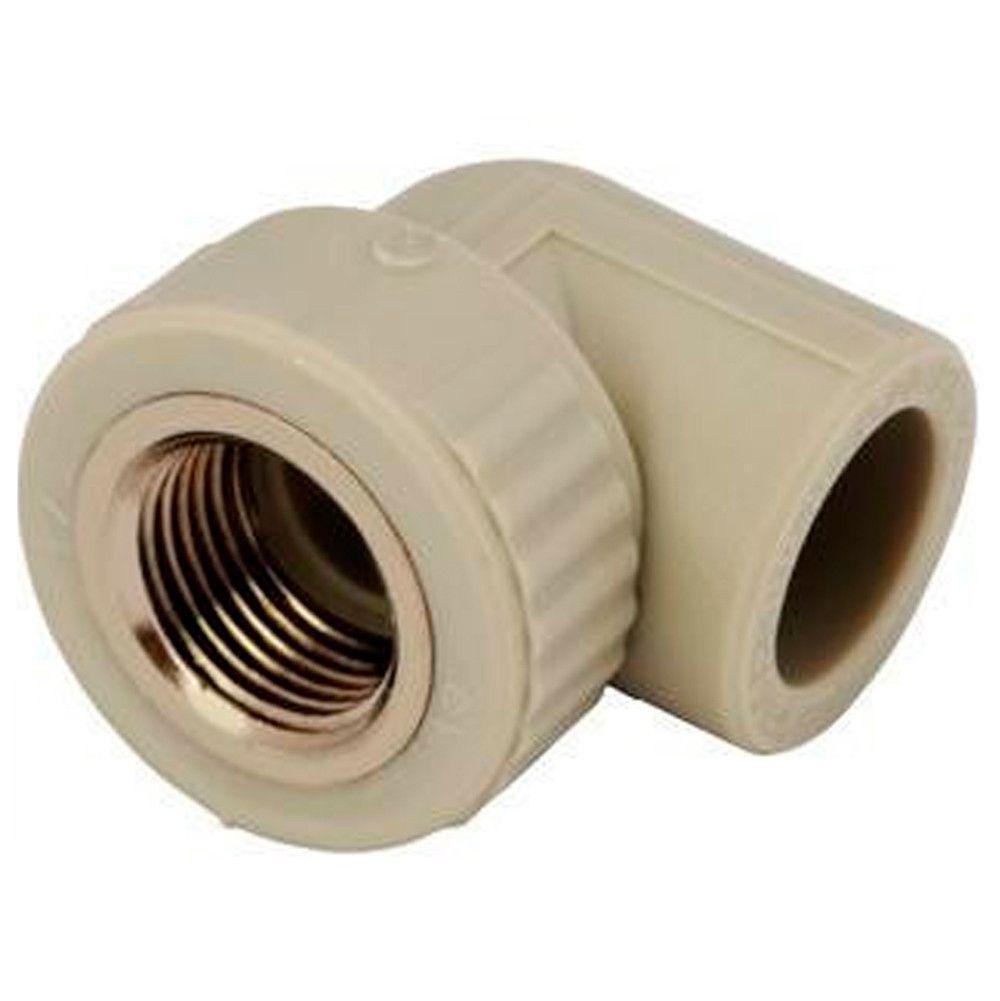 Угол резьба внутренняя 25*3/4 для пайки полипропиленовых труб PPR