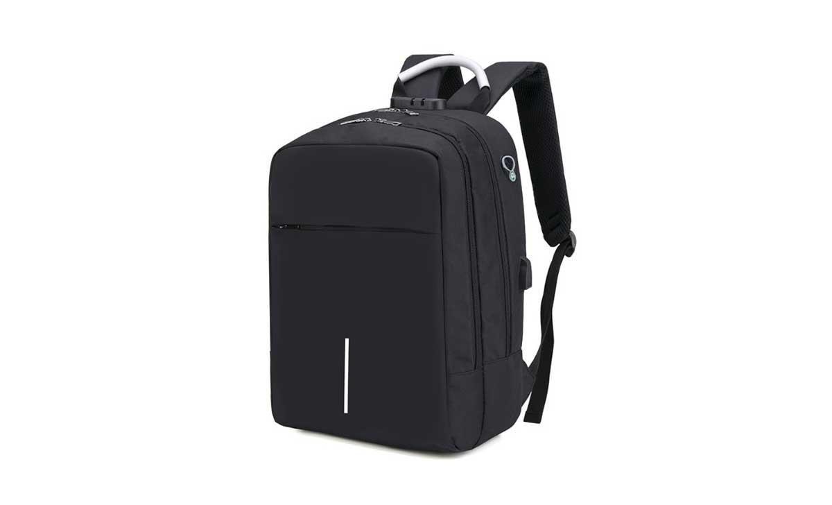 Многофункциональный городской рюкзак SUNROZ City Bag с USB выходом 36л Черный (SUN1595)