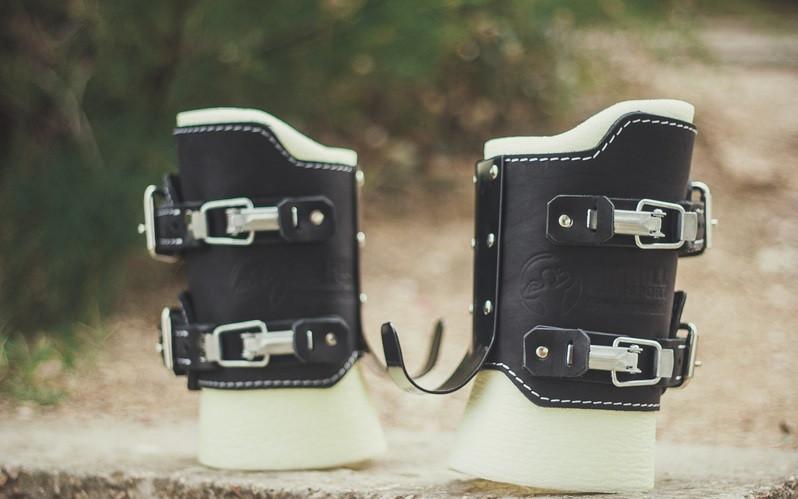 Гравитационные ботинки (инверсионные сапожки для турника) NewAGE Comfort до 150 кг на защелках