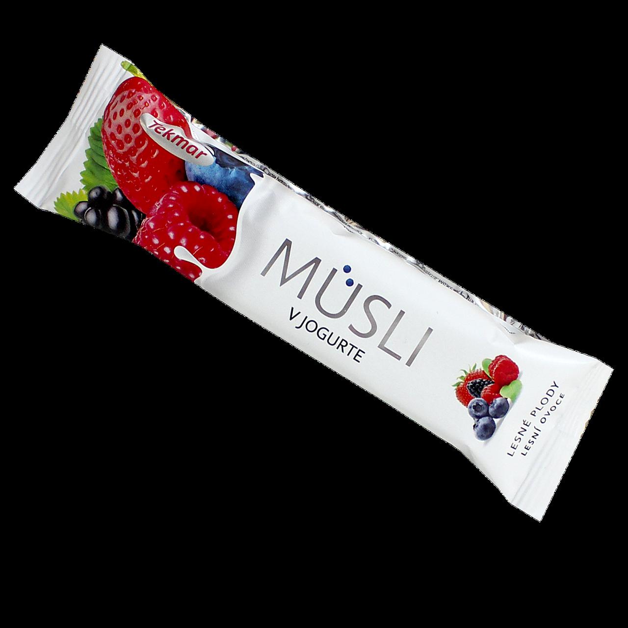 Батончик мюсли TEKMAR в йогурте Лесная смесь , 30г, 32шт/уп