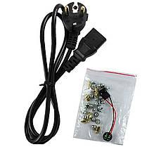 ►Корпус Crown СМС-401 Black компьютерный блок питания 450 Вт разъемы USB 2.0 х 2 наушники микрофон, фото 3