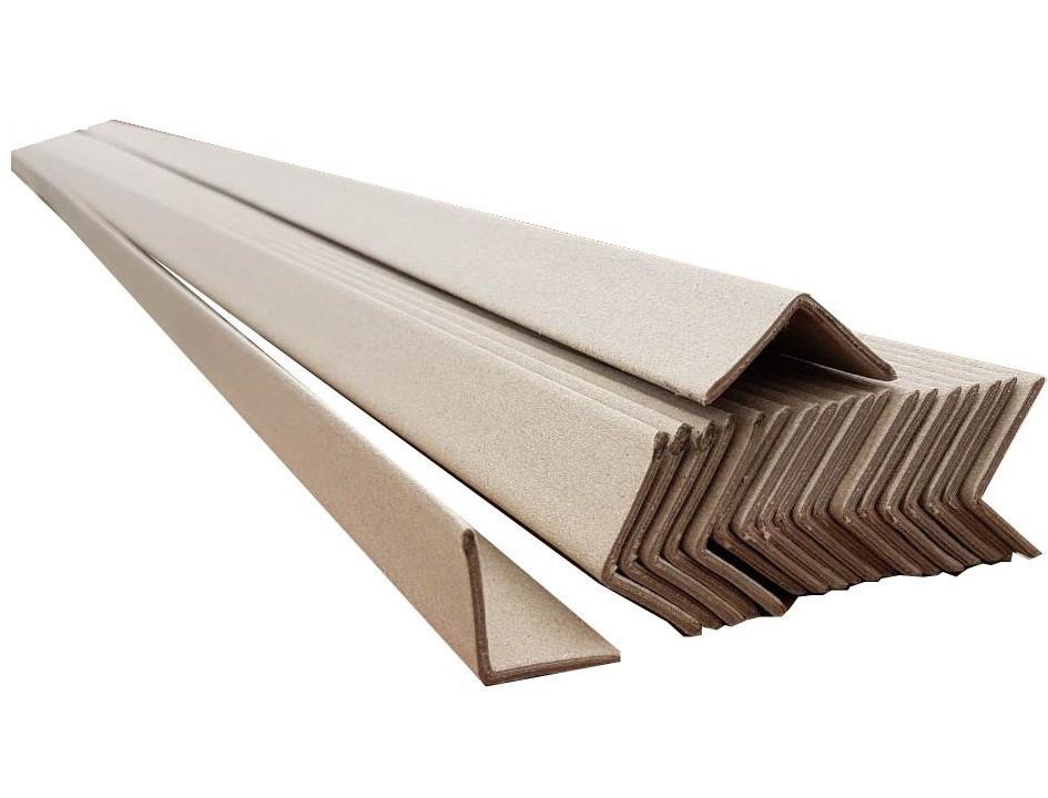 Картонный уголок 4 мм - 45 × 45 × 2 м