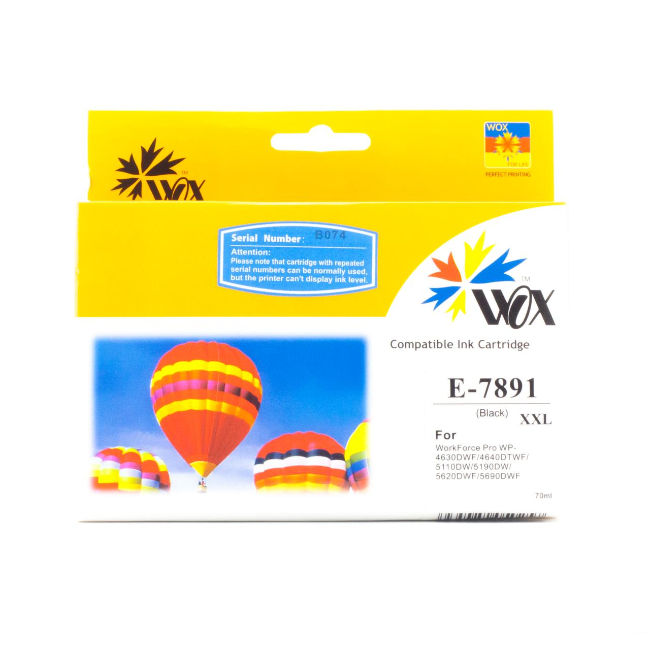 Картридж JetWorld EPSON T7891 Black для WF 5110\5190\5620\5690