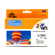 Картридж JetWorld EPSON T7892  Cyan для WF 5110\5190\5620\5690