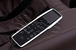Массажное кресло Panamera L коричневый, фото 3