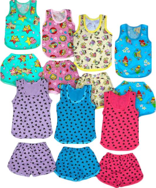 94bdd322a5090 Комплект для мальчика Капитошка, майка и шорты, хлопок, кулир. р.р ...