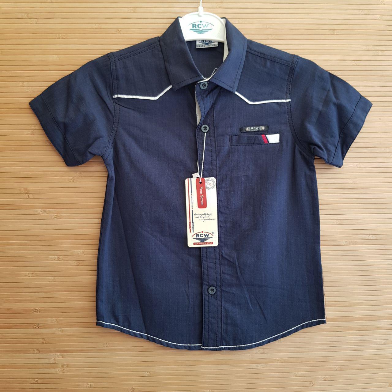 826a4e4cb0a Рубашка нарядная для мальчиков короткий рукав 1-4 лет.Турция (Pufudi ...
