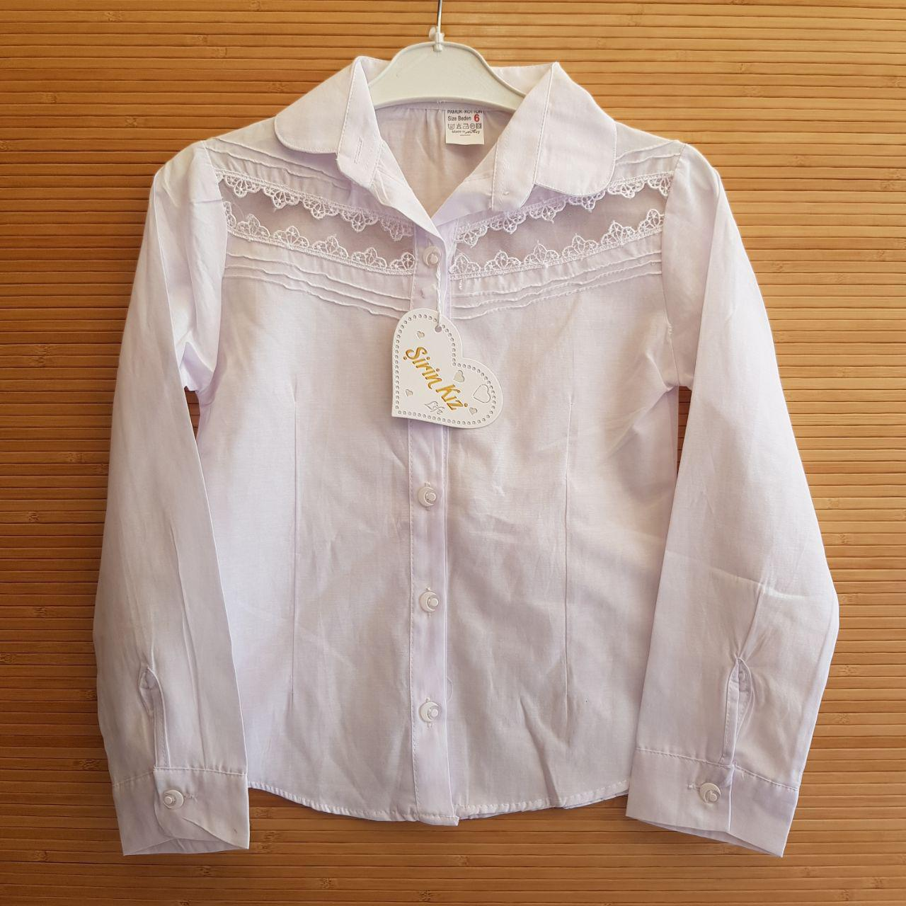 37cc4bf727a8 Заказать Школьная блуза для девочек 9-12 лет.Оптом. Турция. (2130) в ...