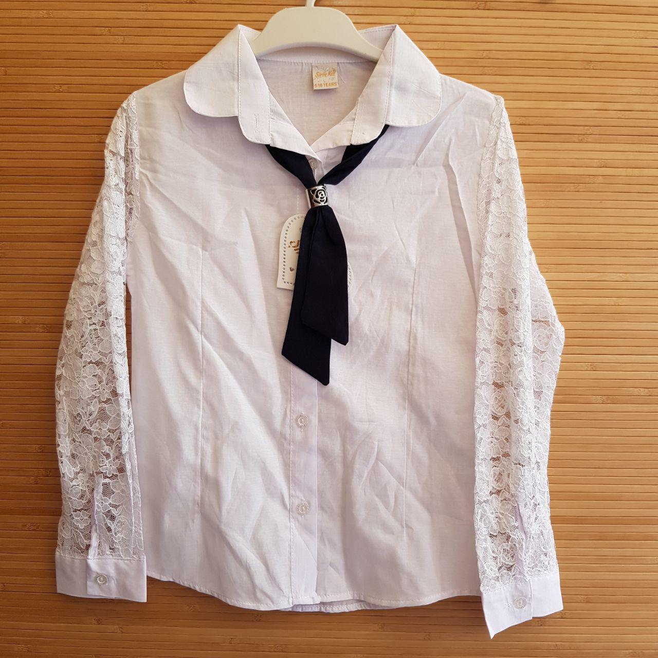 dd5c14937173 Заказать Школьная блуза для девочек 6-9 лет.Оптом. Турция. (2020) в ...