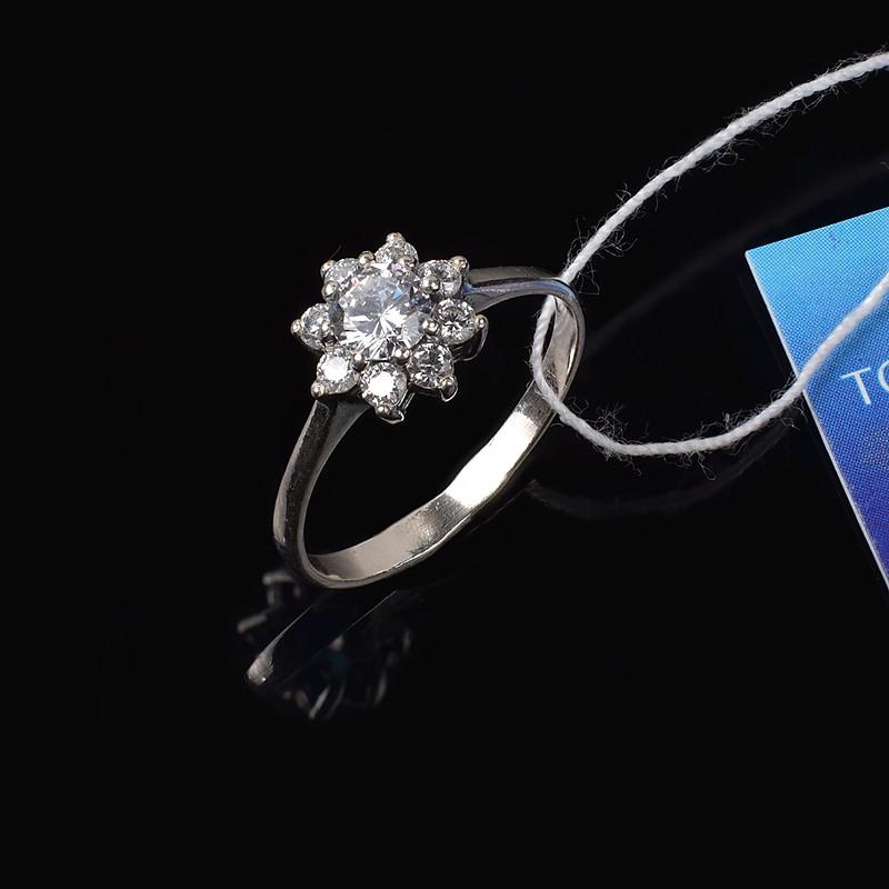 Изящное кольцо Кристалл