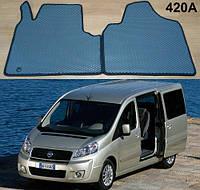 Коврики на Fiat Scudo II '07-16. Автоковрики EVA, фото 1