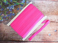Бейка-резинка для повязок, цвет малиновый, 15 мм, фото 1