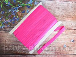 Бейка-резинка для повязок, цвет малиновый, 15 мм
