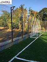 Панель ограждения для спортивных площадок 4 м. Забор высокого качества. ТЕХНА-СПОРТ, фото 1